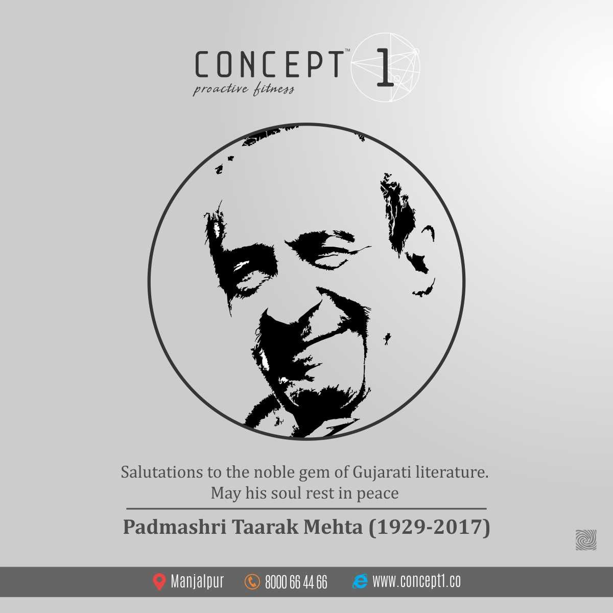 Salutations to the noble gem of Gujarati literature  May his