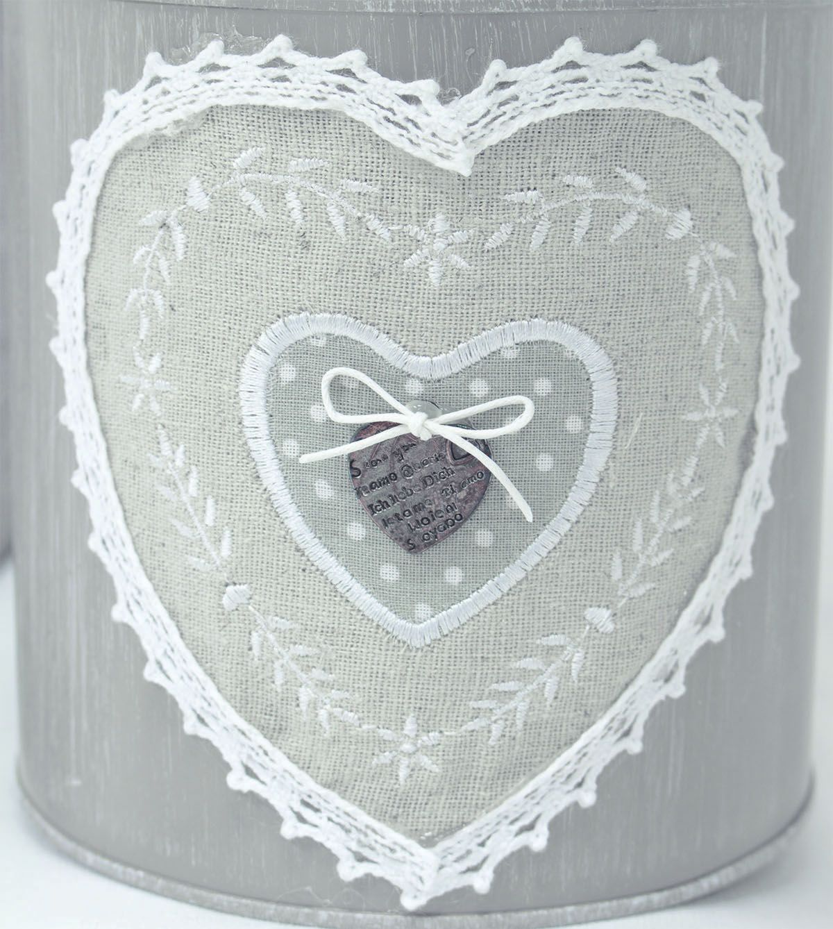 Our designers took inspiration from home-made lace designs such as ...
