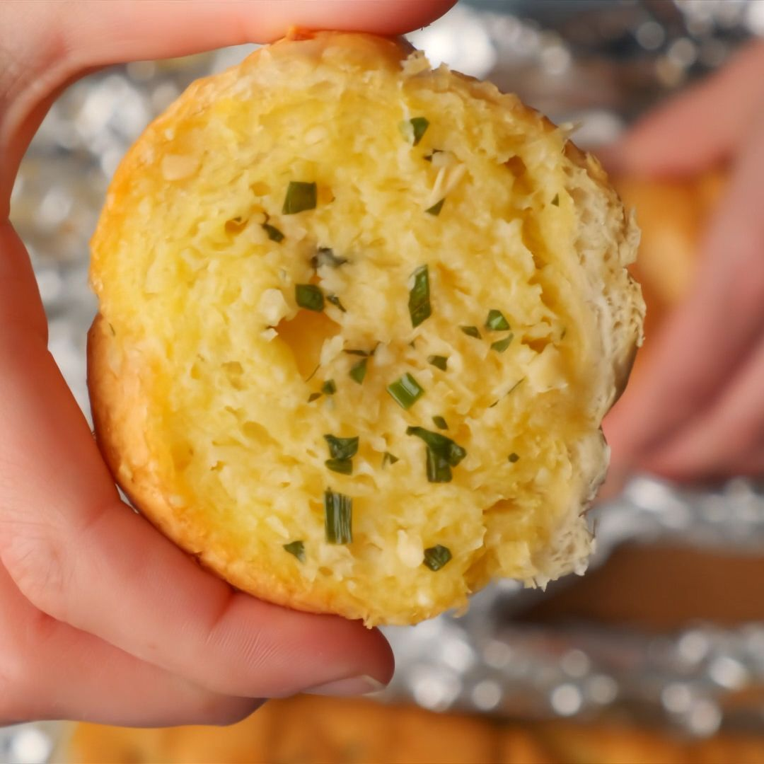 Vegan Garlic Bread - -