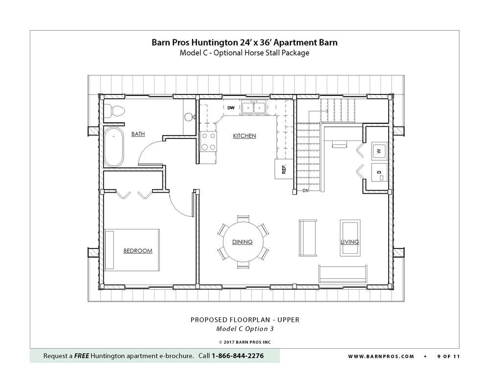 Huntington Barn Apartment Barn Apartment Barn Barn Plans