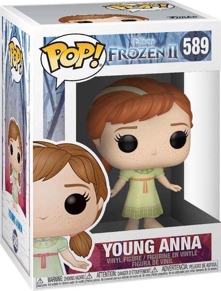 Funko Pop Disney Frozen Ii Young Anna 40889 Best Buy In 2020 Funko Pop Disney Vinyl Figures Pop Vinyl Figures