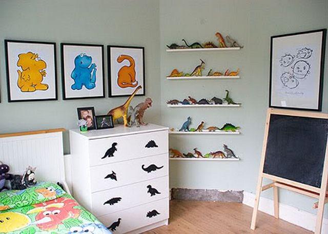 Decoracion dormitorio infantil tematica dinosaurio 3 dec - Cuarto de ninos decoracion ...