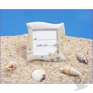 Place Card Frame Beach Theme In Sand Colors