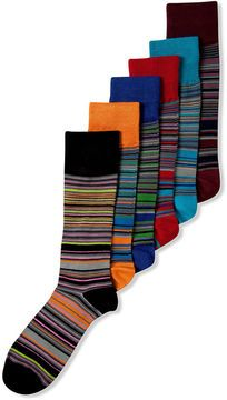 Alfani Spectrum Men S Socks Verigated Stripe Crew Sock On