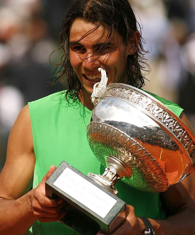 2008 French Open Grades French Open French Rafael Nadal