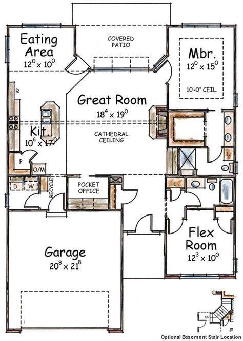 First Floor Plan | First Floor Plan Small Houses Pinterest Arquitetura