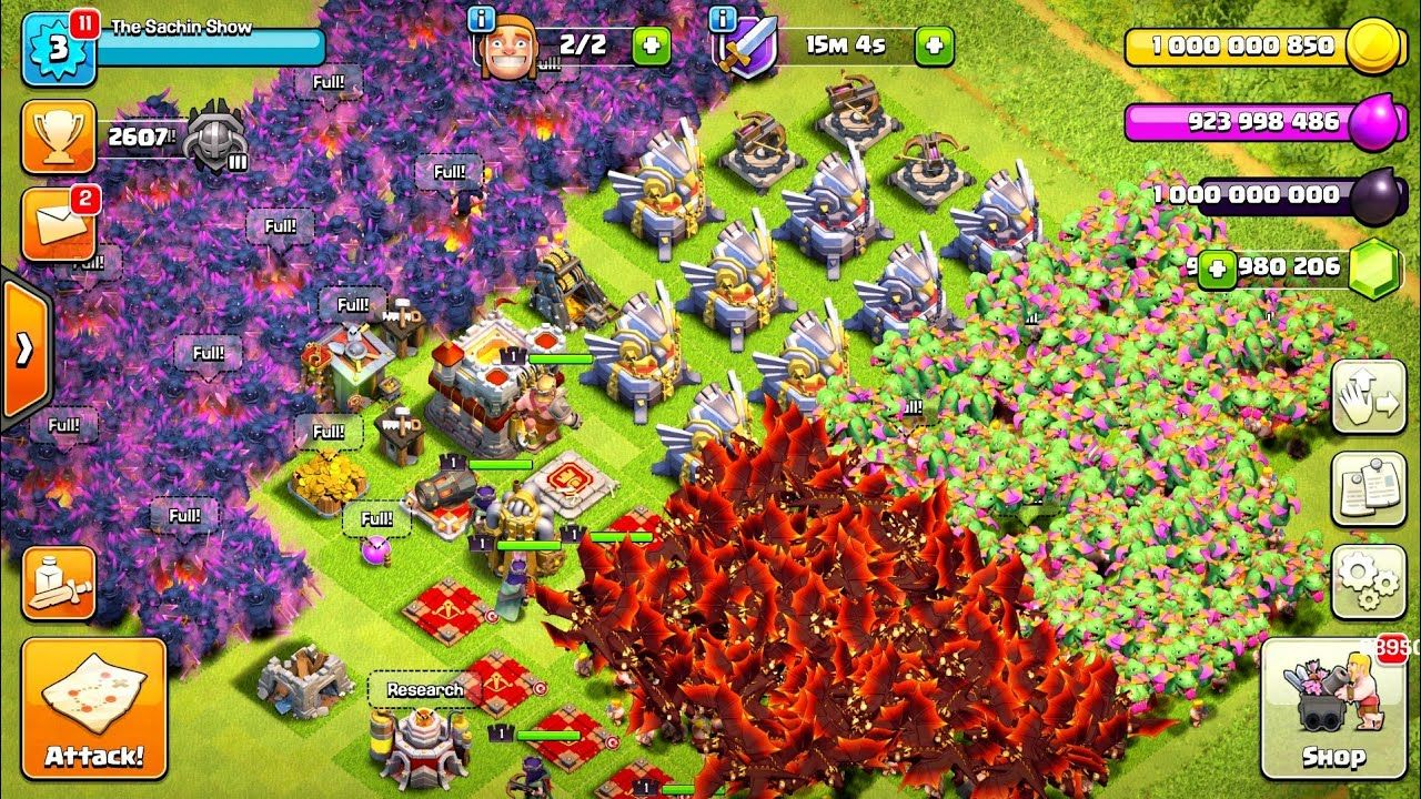 Clash of clans mod apk download unlimited everything 2018