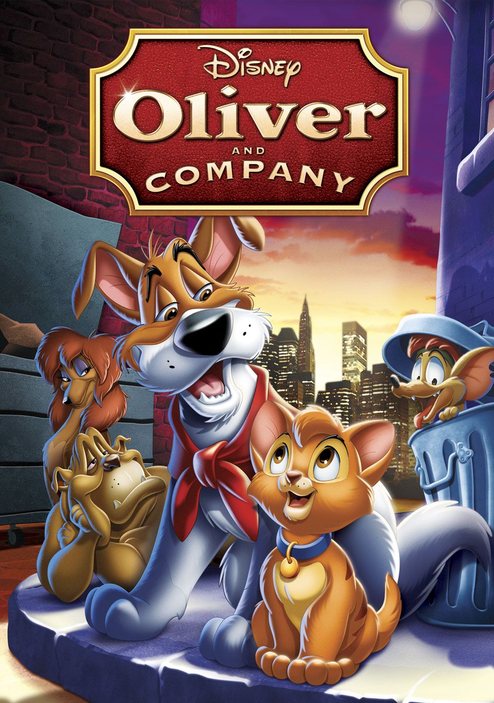 Movie Review Oliver and Company Classic disney movies