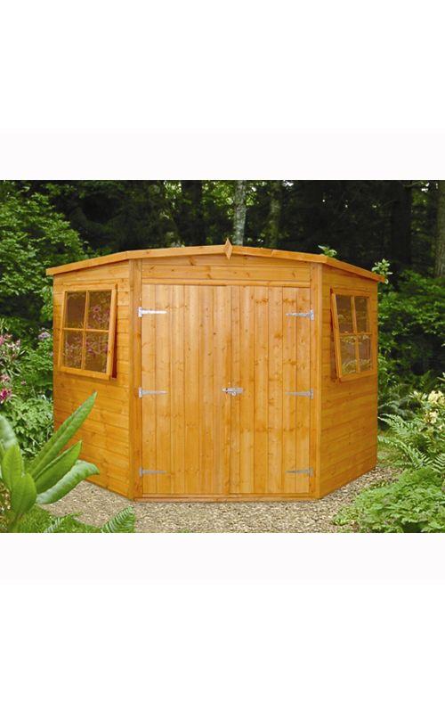 fairwood corner garden shed 7 x 7ft