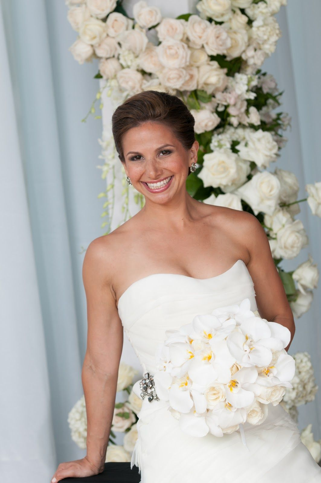 Bridal bouquet by jeannie fortunato of atlas floral decorators nyc