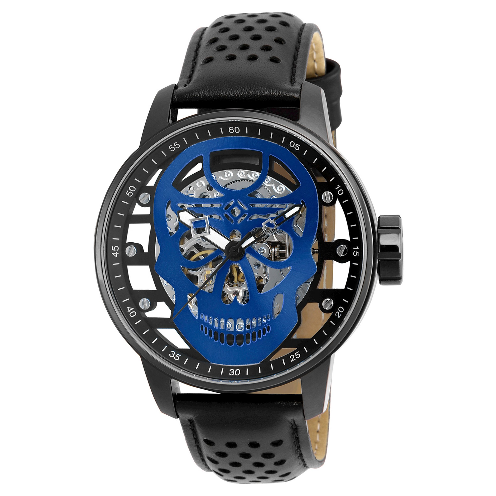 Men's Invicta 20197 S1 Rally Mechanical 3 Hand Blue Dial