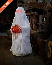 25 ft bump and go ghost animatronics decorations - Spirit Halloween Animatronics