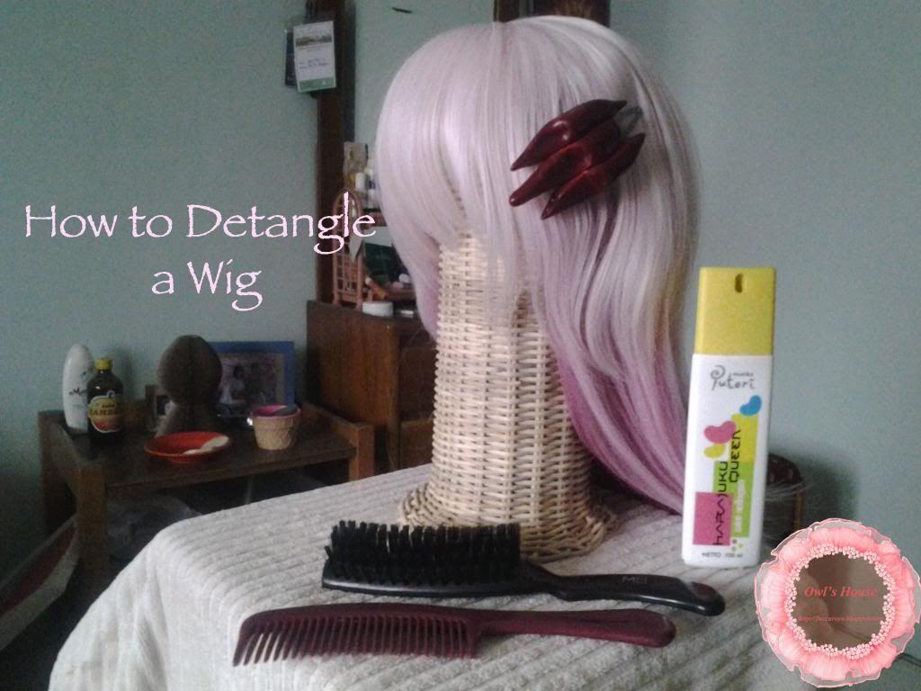 How to detangle a wig Detangler, Wigs, Cosplay