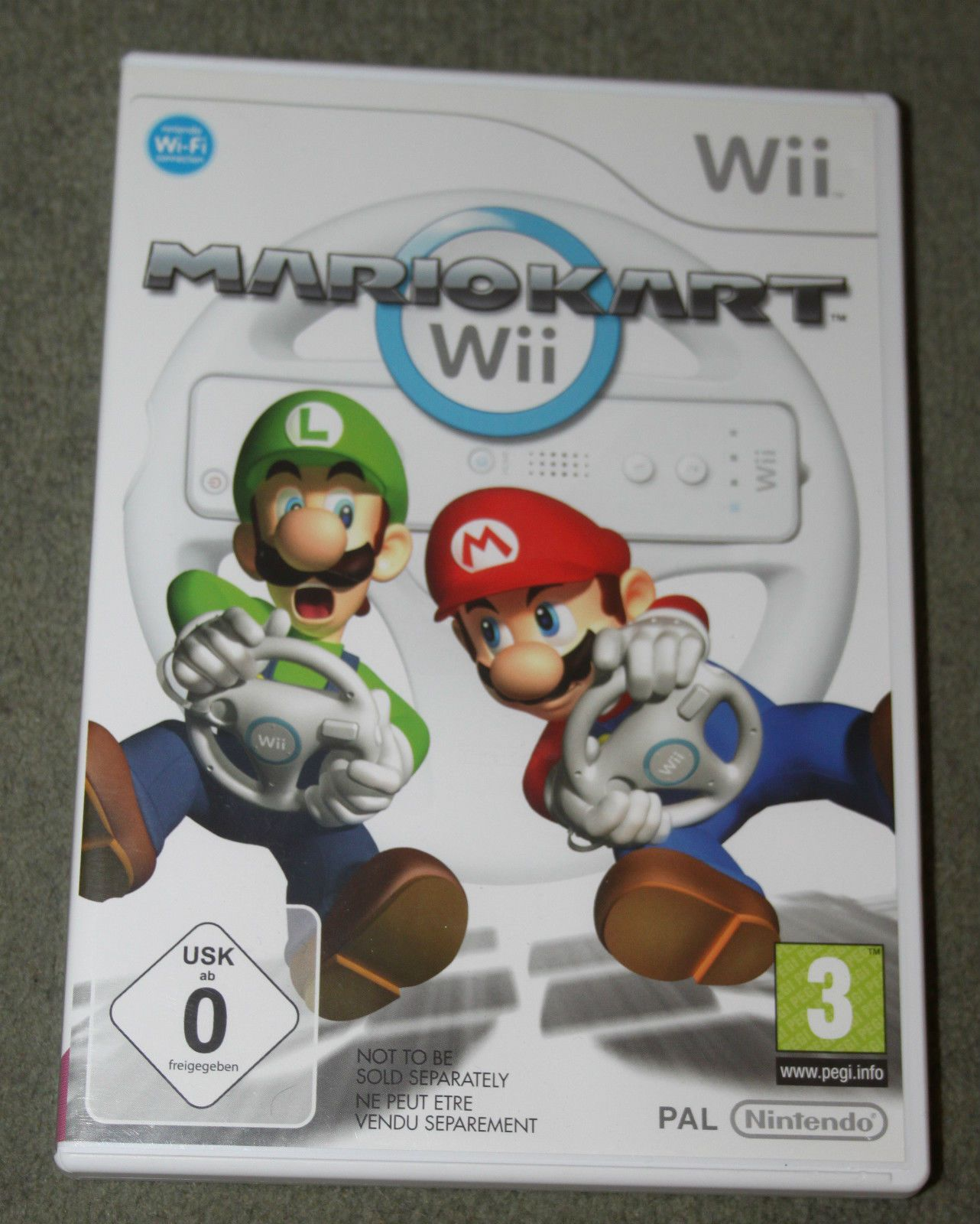 Mario Kart Nintendo Wii With Wheel Game Instructions Original Box PAL  Edition in Video Games & Consoles, Games | eBay
