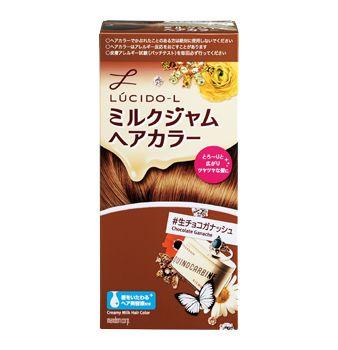 ミルクジャムヘアカラー 生チョコガナッシュ 商品ライブラリー 生