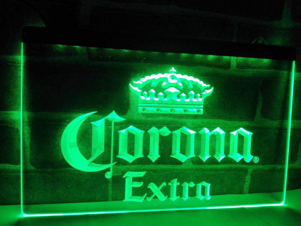 Led Sign Home Decor Mesmerizing Corona Extra Beer Bar Pub Cafe Led Neon Light Sign Home Decor Design Ideas