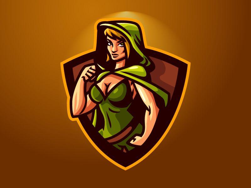 Green Hoodie Esports Logo Photo Logo Design Esports Logo Logo Design Art