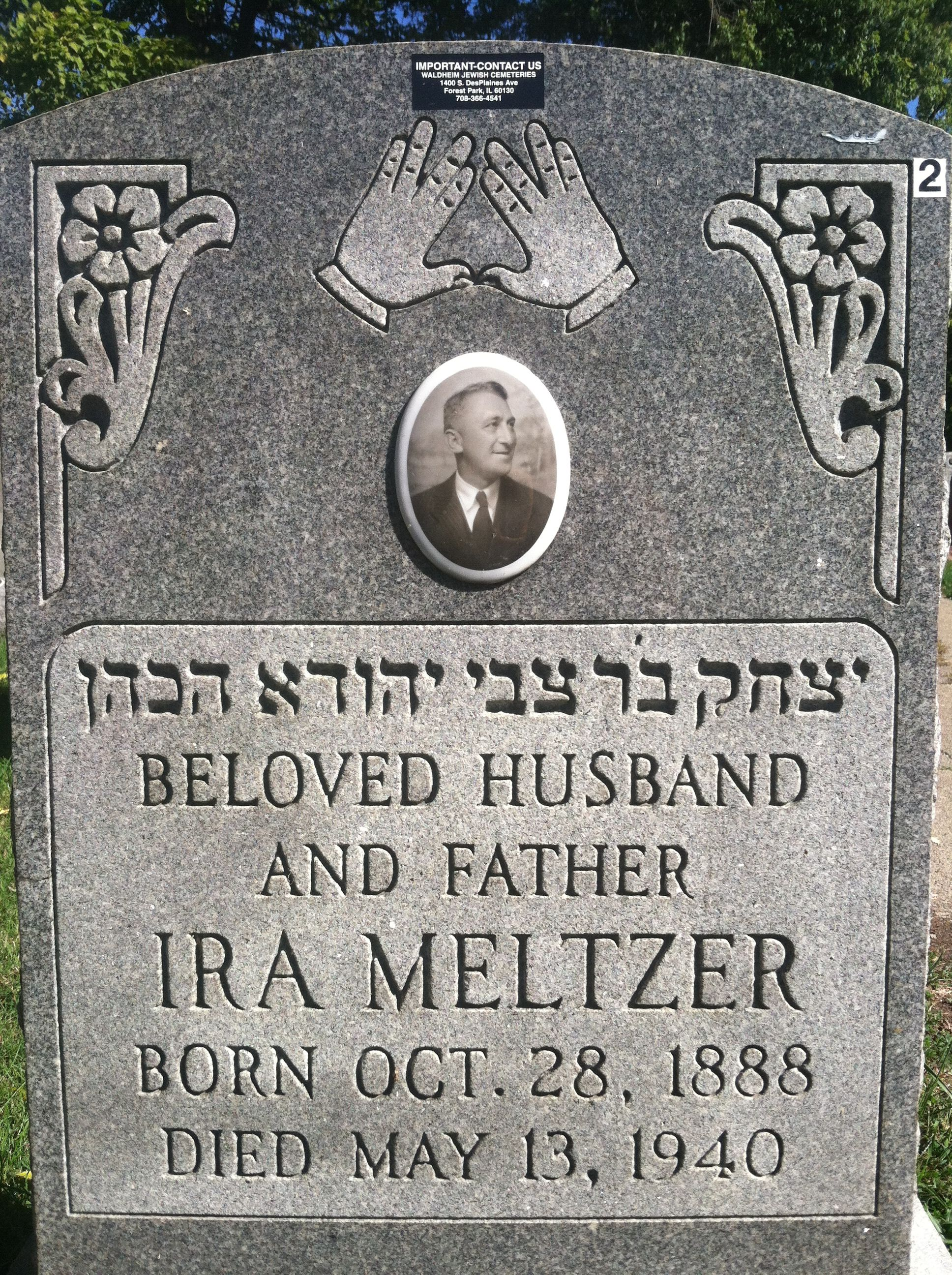 Pin by Kara VanDam on Jewish Grave Markers in Chicago