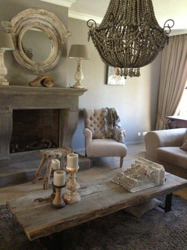 Coffee table solid wood rustic furnishing ideas of Fürs living room