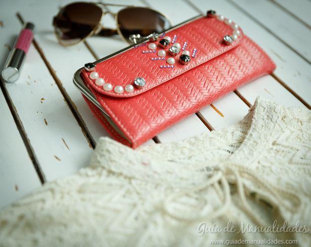 66f54d546 Cómo decorar tu cartera o billetera en dos pasos | Cositas | Fashion ...