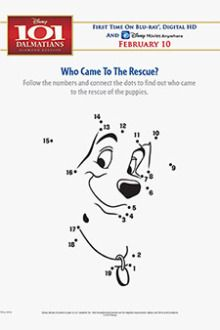 Free Disney S 101 Dalmatians Printables Downloads Activities And