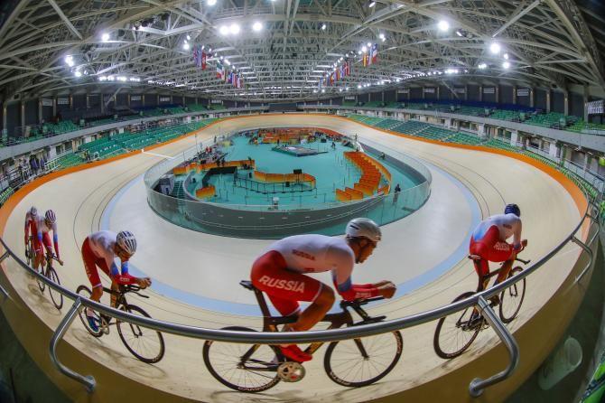 The Rio velodrome