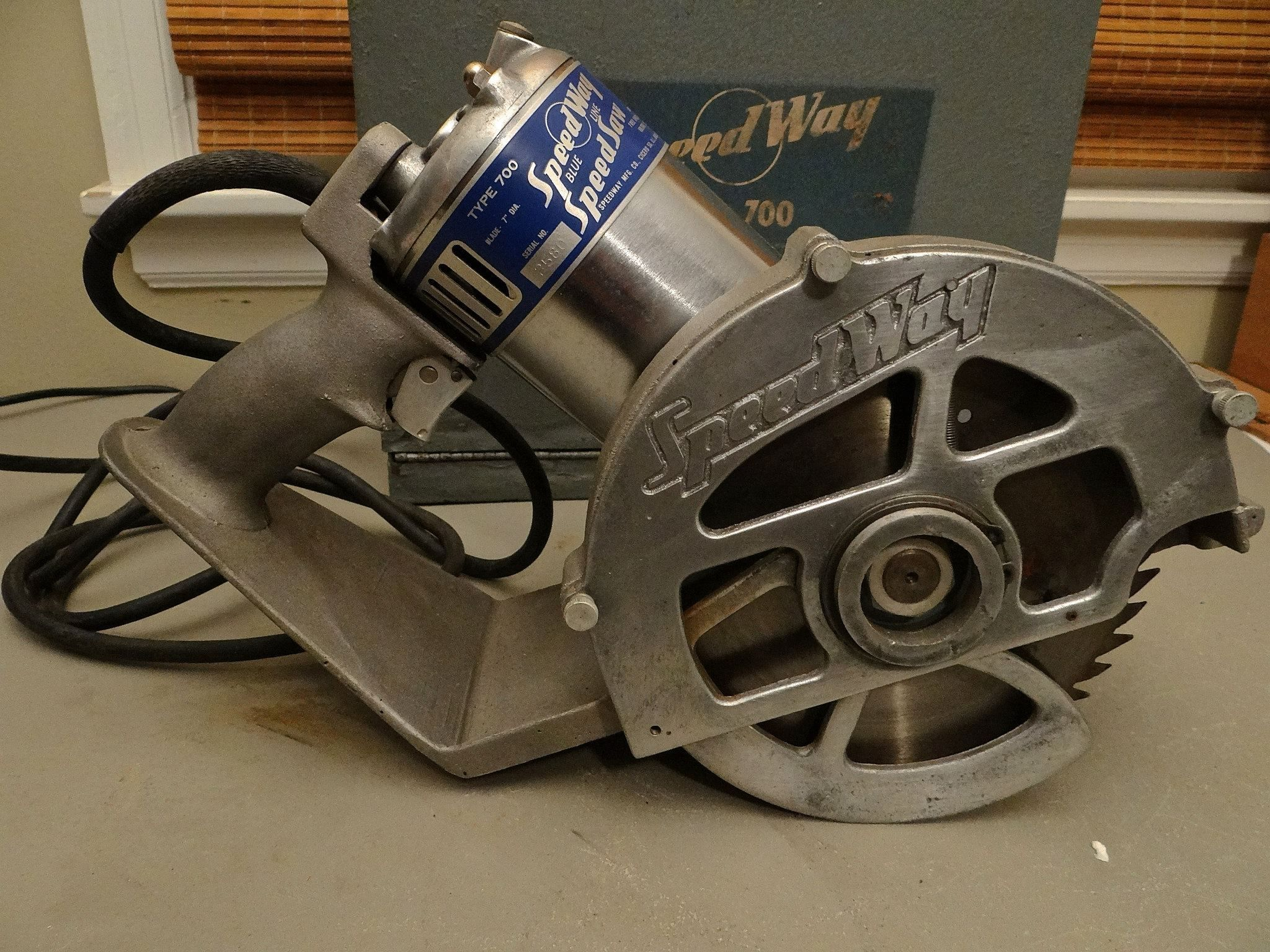 1930s Speedway Circular Saw Vintage Tools Circular Saw Woodworking