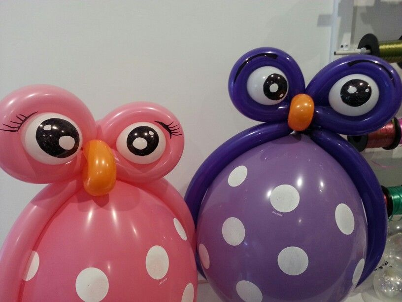 Owl balloons mis globos by flor ynojosa febres