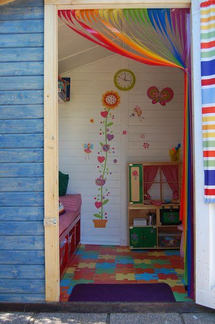 Proyecto casita de jardín para niños Yo quiero una igual! Lillys