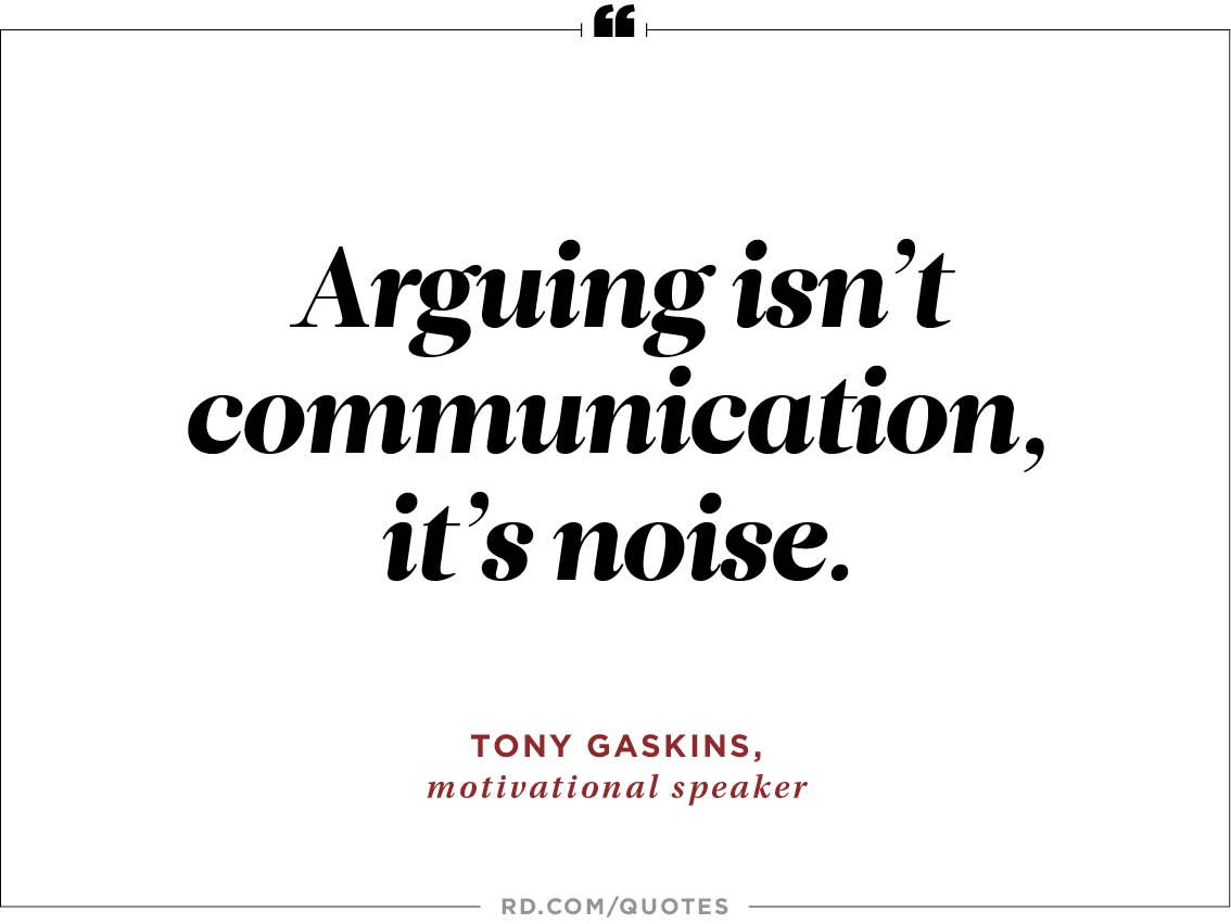 10 Wise Quotes You Can Use to Stop an Argument In Its