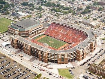 T Boone Pickens Stadium Oklahoma State University Football Stadiums Oklahoma State