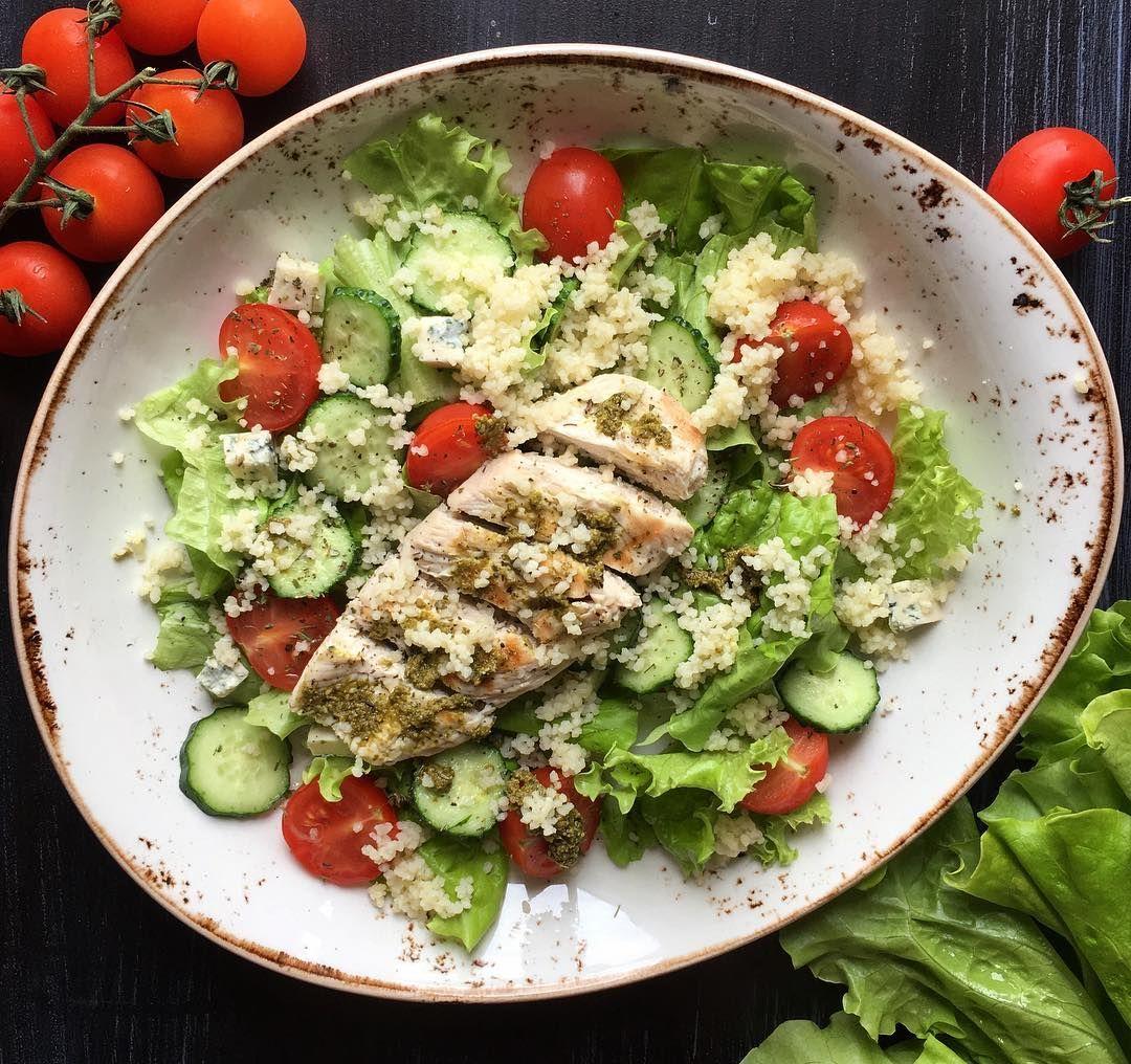 Рецепт легкого салата для похудения