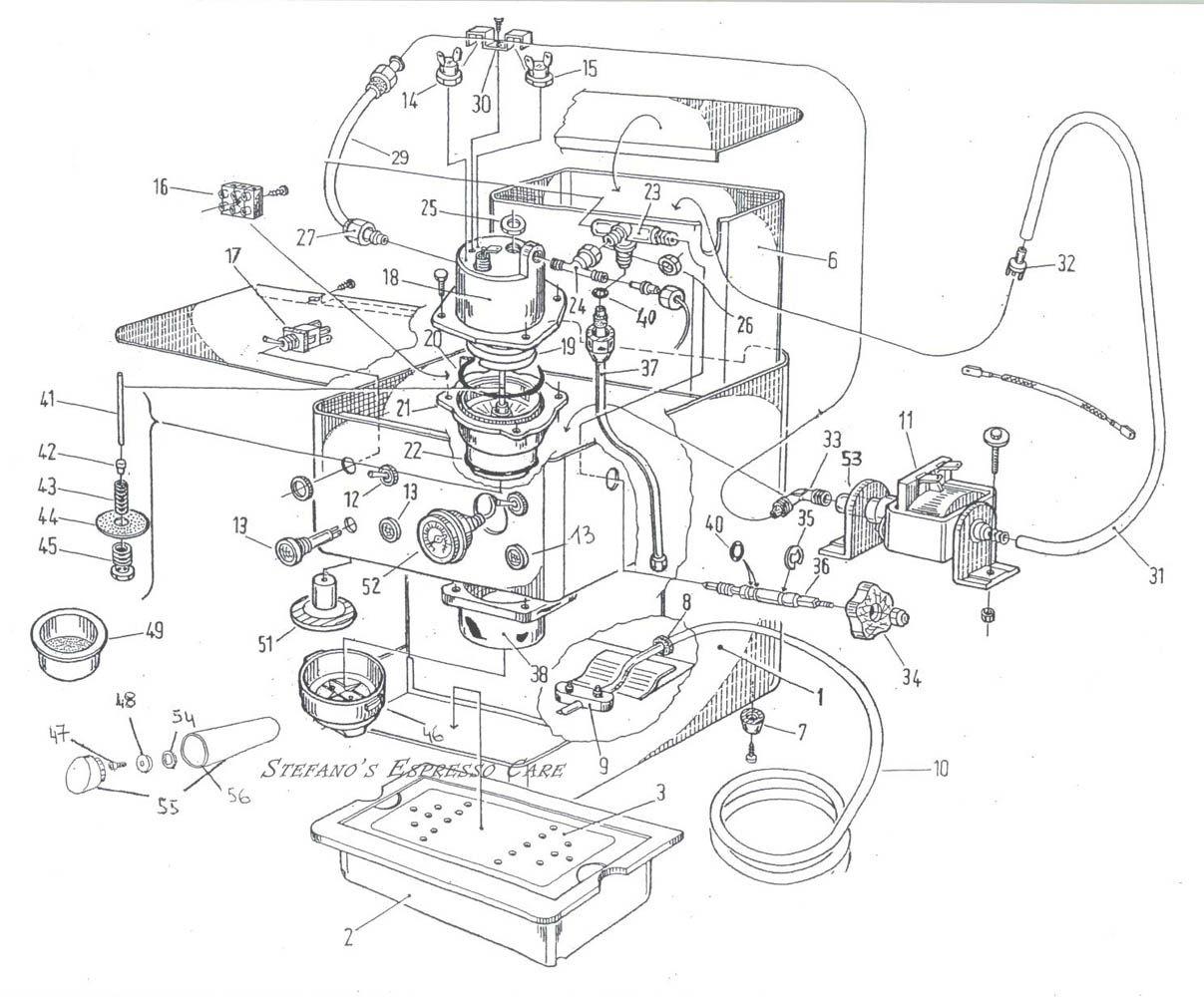 portafilter schematic