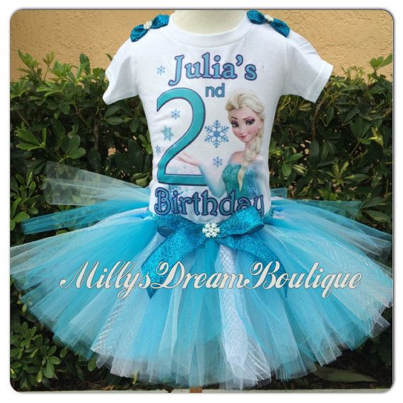 Elsa Birthday Outfit/ By MillysDreamBoutique On Etsy