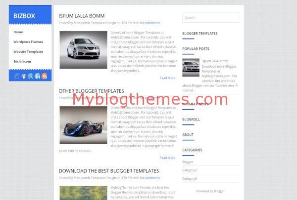 The bizbox business blogger template blog themes blogger the bizbox business blogger template blog themes blogger blogthemes business wajeb Image collections