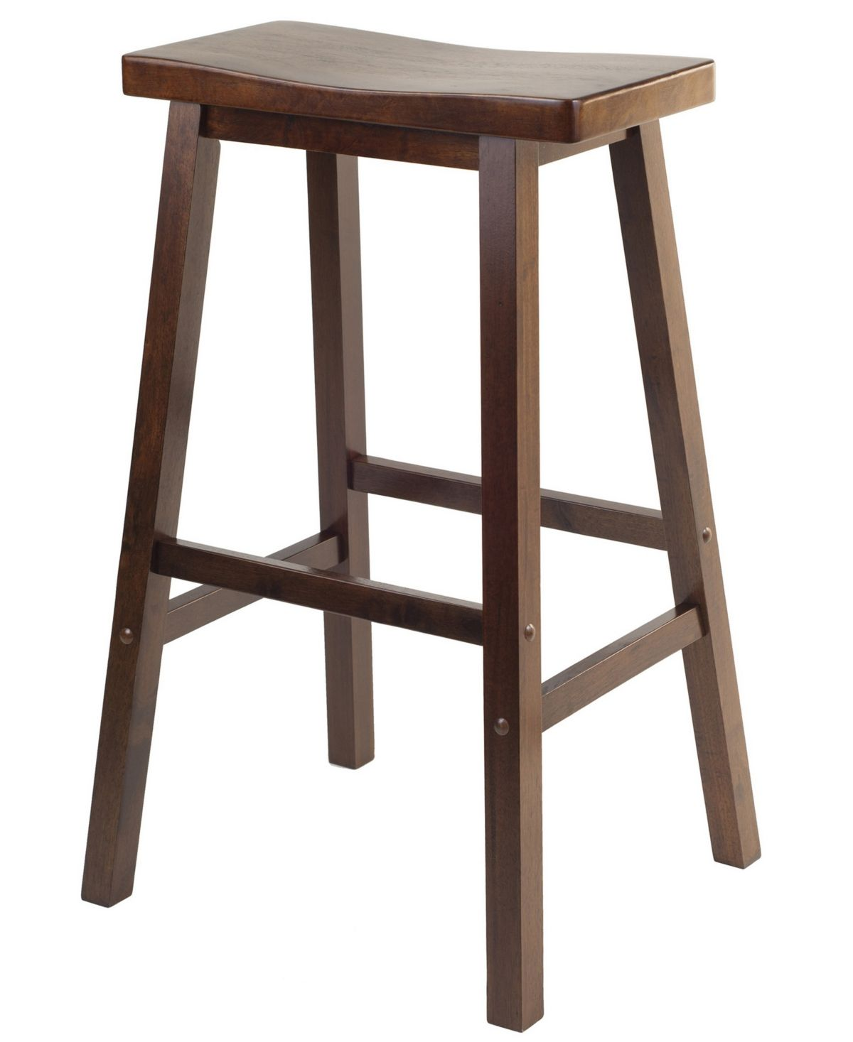 Winsome Satori 29 Saddle Seat Bar Stool Reviews Furniture
