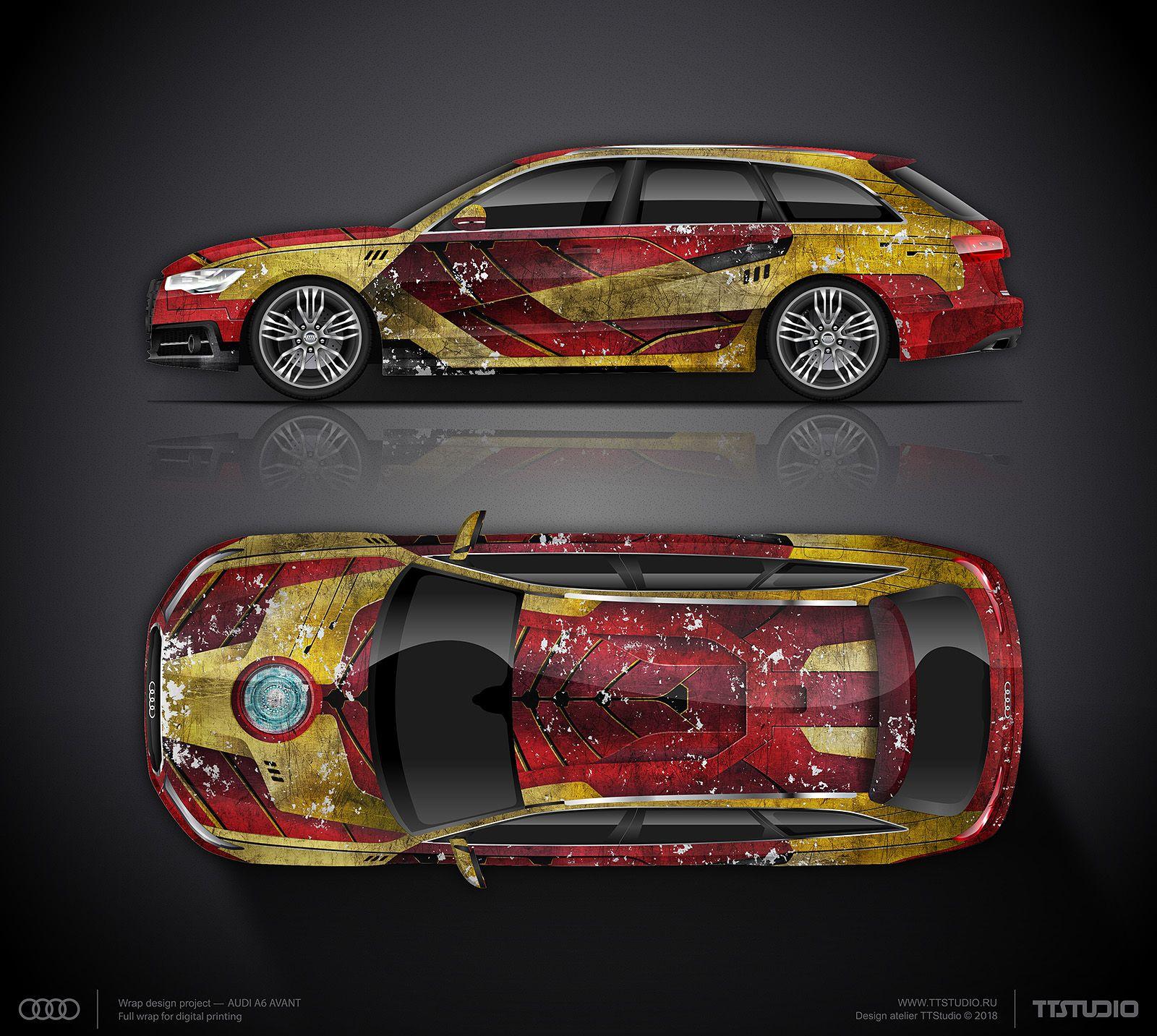Iron Man Wrap Design Concept