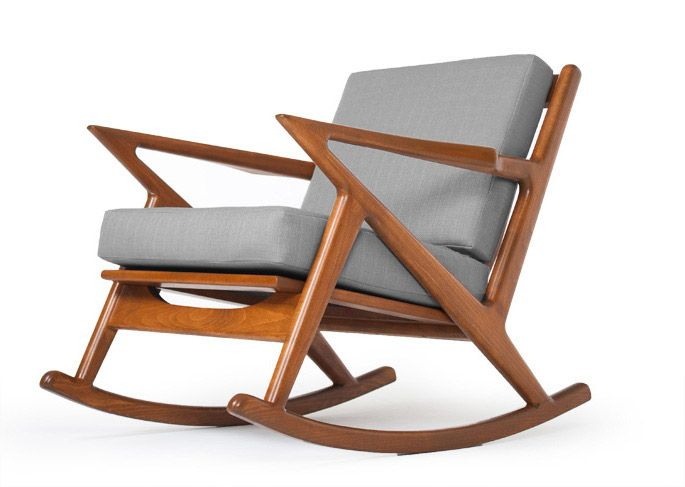 danish modern rocking chair table chairs rove concepts furniture move to janice pinterest did you know there is an mcm rocker made in la kennedy thrive