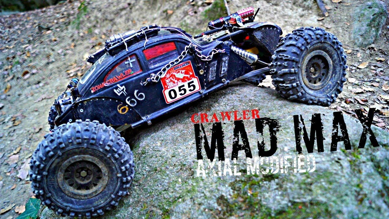 Mad Max Crawler The Beast Axial Modified Rc Rock Crawler Crawlers Rock Crawler