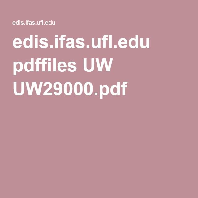Reasons to have and how to build a bat house. edis.ifas.ufl.edu pdffiles UW UW29000.pdf