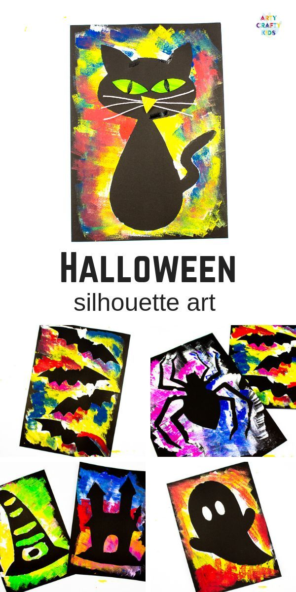 Photo of Silhouette Halloween Art