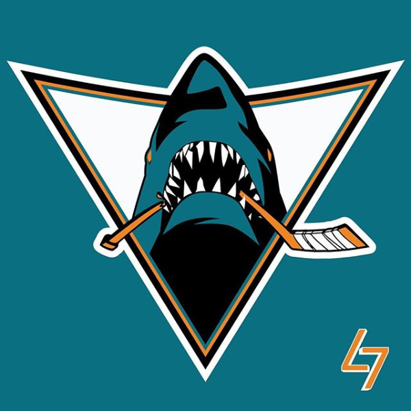 San Jose Jaws San Jose Sharks Shark Logo National Hockey League