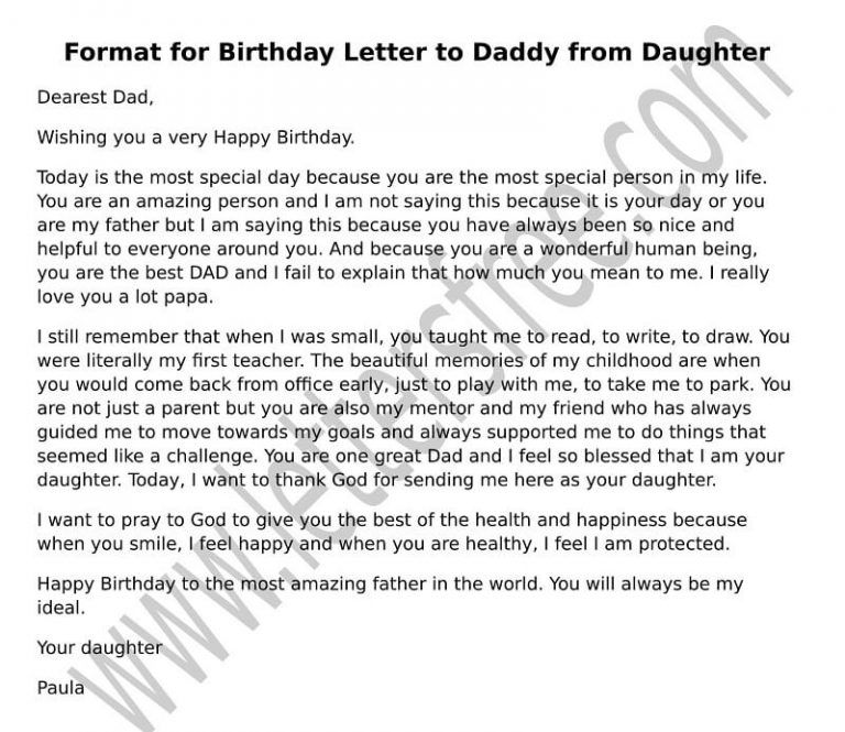 Letter To A Teenage Daughter On Her 16th Birthday From Mom Letter To Dad Fathers Day Letters Letter To Father