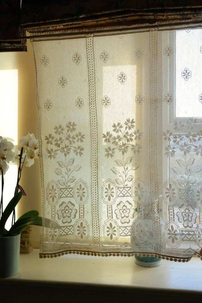 photogiraffe panels lace shop fabric style ribbons bows panelling me panel curtains garland curtain cotton white victorian