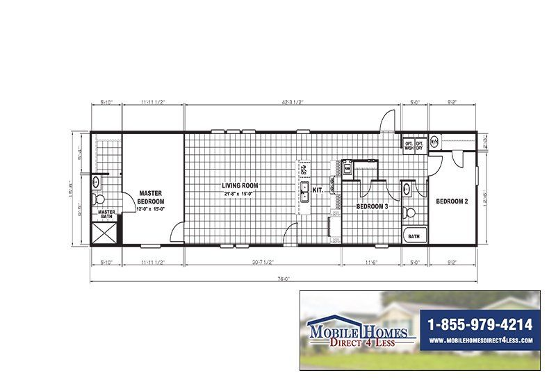 Mobile Homes Direct 4 Less Modular Mobile Homes Mobile Home Floor Plans Mobile Home Doublewide Thermopane Windows