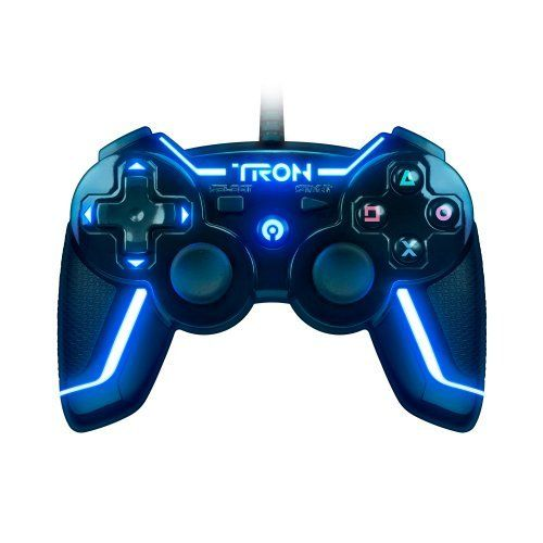 Tron Wired Controller For Ps3 Collector S Edition Yes Please Tron Games Technology Gifts