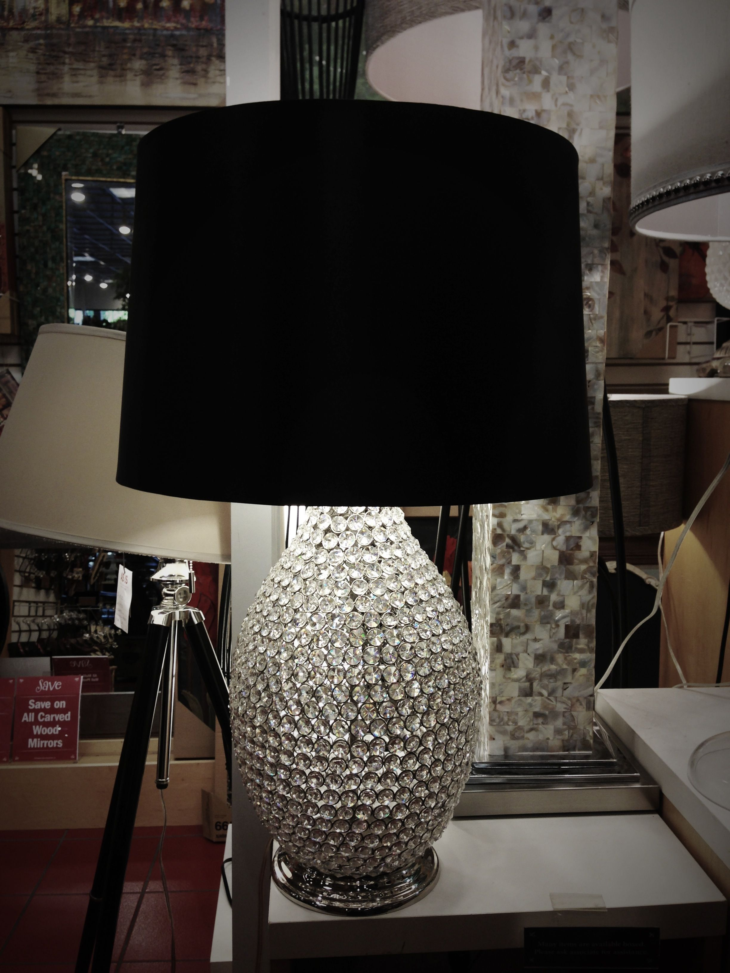 Pier One Table Lamps Amazing Sparkly Lamp  Pier One #shineon  Table Lamps Living Room Design Inspiration