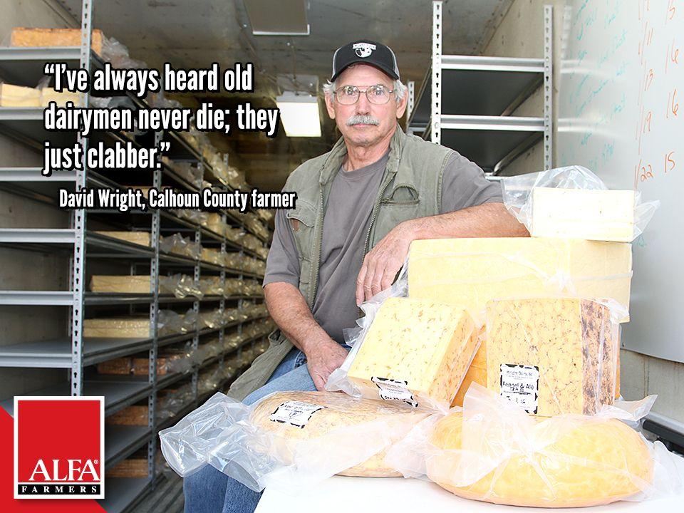 Calhoun County Farmer David Wright Calhoun County Farmer Wright