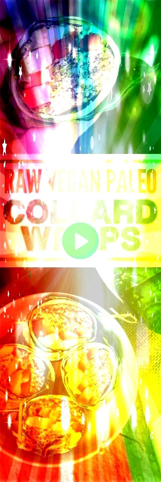 Collard Wraps Raw Vegan Recipes  Collard Wraps Raw Vegan Recipes  Collard Wraps Raw zucchini pasta salad with vegan sunflower cheese sauce Easy to make healthy courgette...