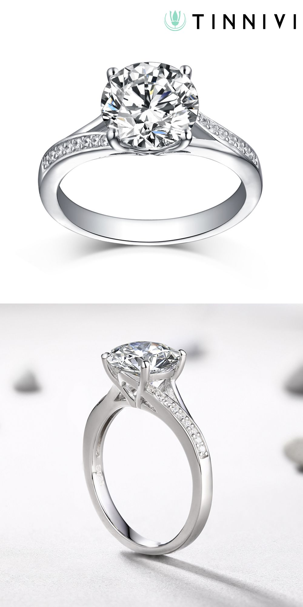 stone white of rings silver diamond and miadora best promise sterling created sapphire